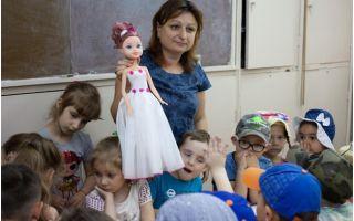 Профориентация начинается с детского сада