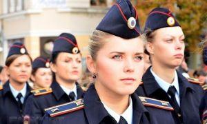 Девушки могут стать милиционерами