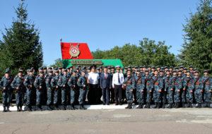 Курсанты ТЮИ с президентом