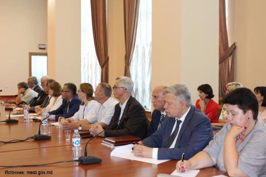 Ректоры молдавских вузов