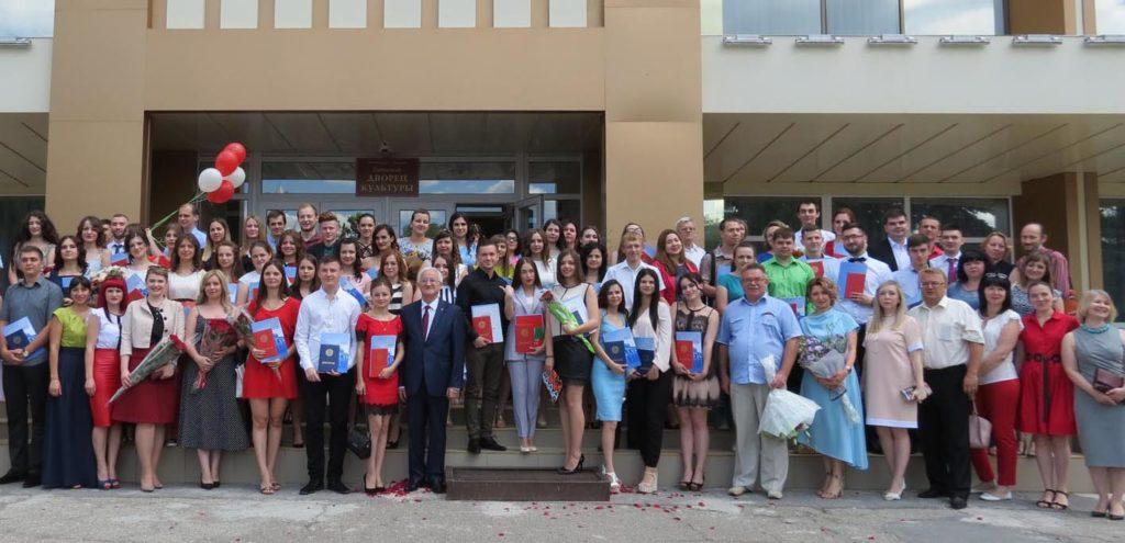 Вручение дипломов выпускникам ПГУ РФ